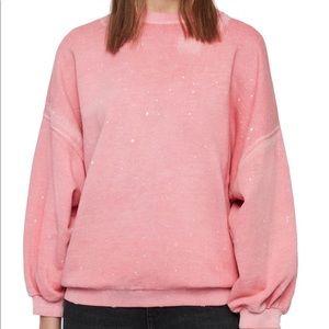All Saints Storn Splatter Sweatshirt